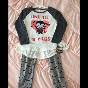 Little Monsters outfit pants and shirt 3T …